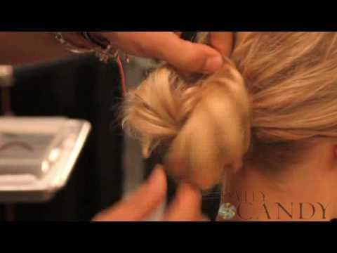 simple chignon tutorial (I'm obsessed with this hairstyle)