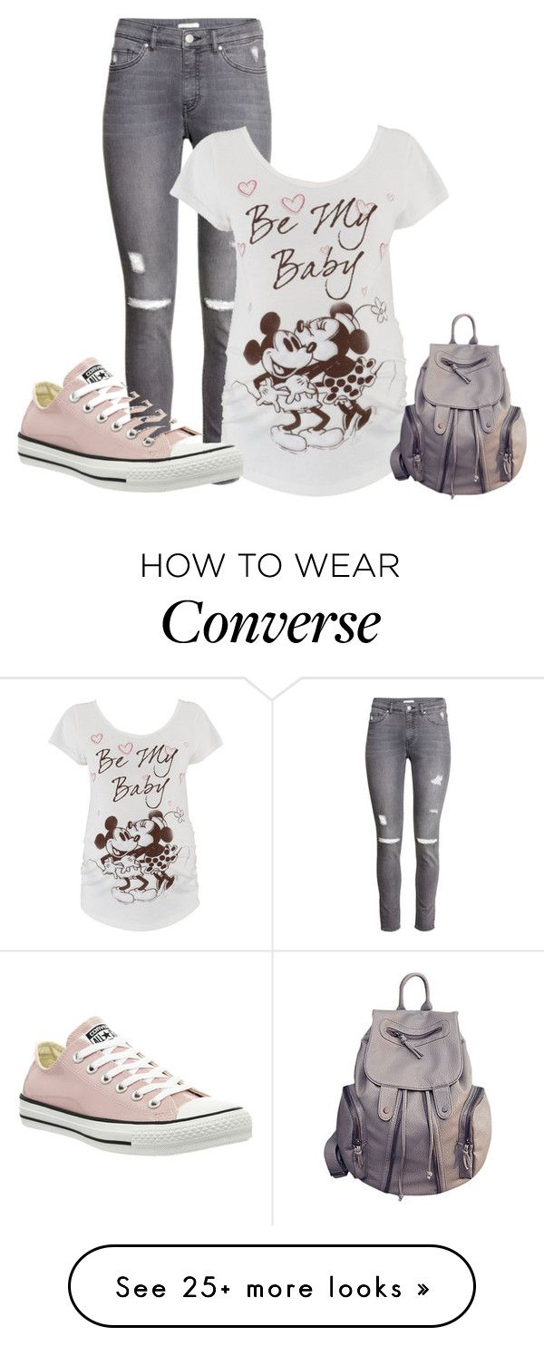 """""""Untitled #1681"""" by janicemckay on Polyvore featuring mode, H&M et Converse"""