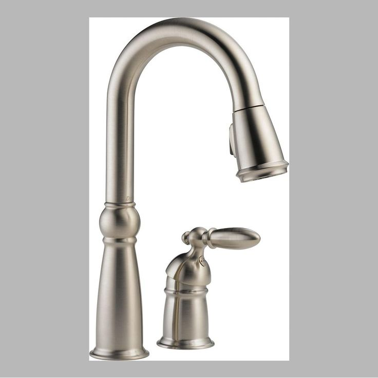delta faucet at kitchen u0026 bath serving the orem richfield and roosevelt utah areas none bar sink faucets in a decorative stainless finish - Bar Sink Faucet
