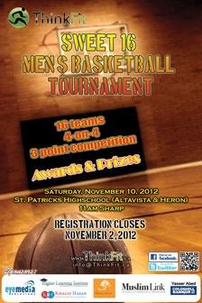 Sweet 16 Basketball Tournament - Nov 10, 2012