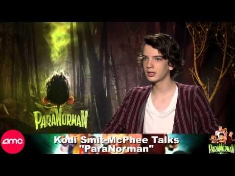 Kodi Smit-McPhee Talks ParaNorman
