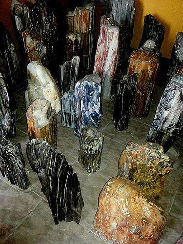petrified wood carving | by IndoGemstone