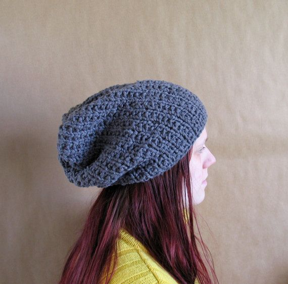 Hand knitted warm hat for women. Soft and by recyclingroom on Etsy