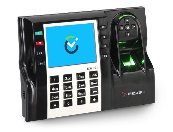 #identifikace #cip Biometrická docházková čtečka DSi 501 zaměstnance identifikuje na základě otisku prstu a dosahuje vysoké míry rozpoznání. Díky svému výkonnému procesoru tyto docházkové čtečky rozpoznávají otisk prstu zaměstnance v okamžiku přiložení na optický senzor (za 0,7s). Patří tak k nejrychlejším biometrickým čtečkám vůbec. Ve čtečce otisků prstů je integrovaná také čtečka čipů. Vybraní zaměstnanci se tak mohou identifikovat čipem nebo kombinací čipu a otisku prstu.