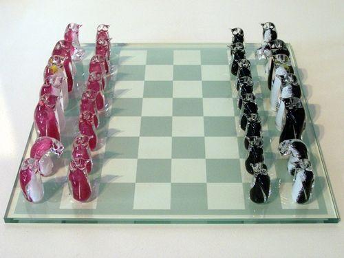 Penguin chess set. :)