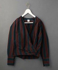 商品詳細 - <6(ROKU)>STRIPE CACHE COEUR SHIRTS/シャツ|6(ROKU)BEAUTY&YOUTH(ロク ビューティ&ユース)公式通販