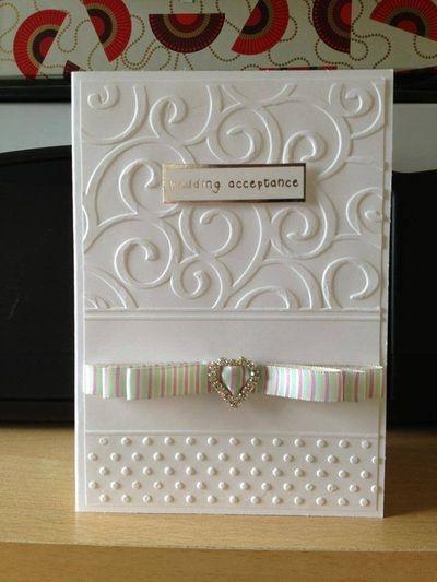 Wedding & Anniversary cards - Handmade Cards By Hazel