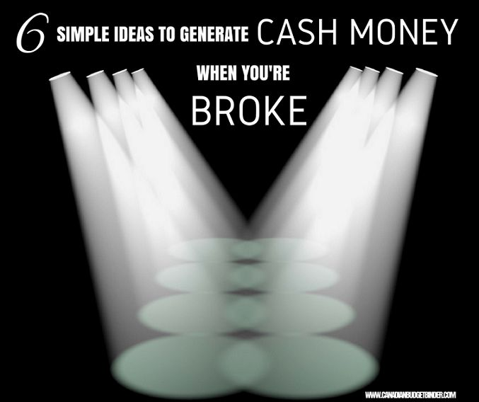 Cash money goes a long way when you're broke. What other simple ways can you offer Christine to help her generate extra cash money to pay off her debt? Leave a comment below or on the blog for her and other readers looking for guidance.- Mr.CBB Thanks for any LIKES, Shares and Comments. Have a great day.