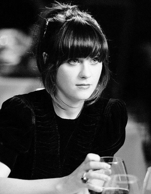 Zooey Deschanel bangs. I finally did it again after four years, and I still love it.                                                                                                                                                                                 More