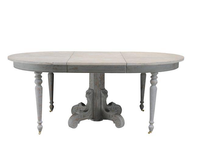 rozkládací jídelní stůl ruční výroby / stylový toskánský nábytek