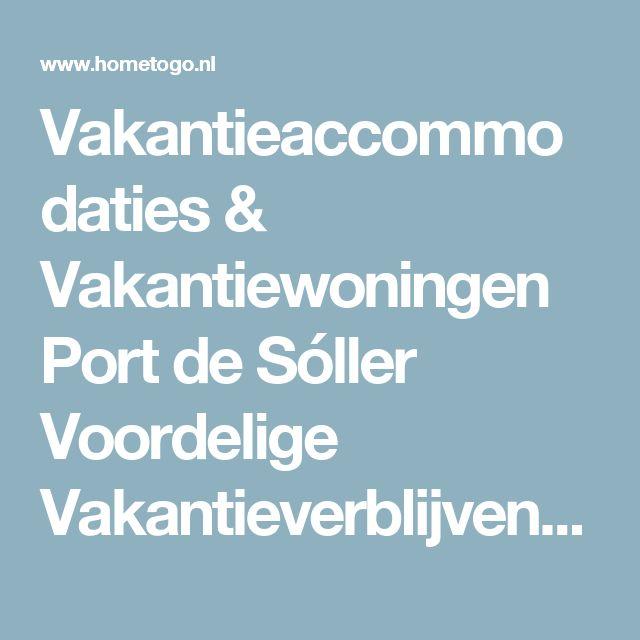 Vakantieaccommodaties & Vakantiewoningen Port de Sóller Voordelige Vakantieverblijven   HomeToGo.nl