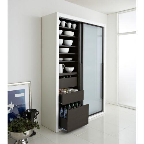 Calmo カルモ ソフトクロージングキッチンボード 引き戸 幅140cm 家具収納・インテリア雑貨専門 通販のハウススタイリング(house styling)