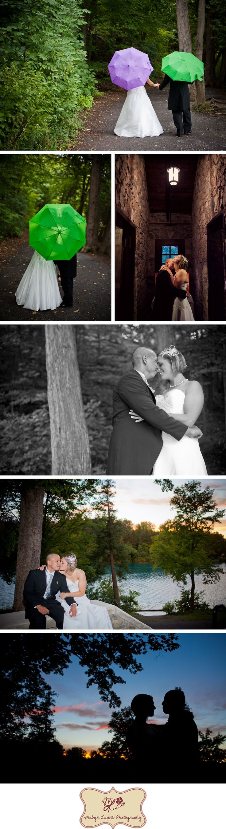Green Lakes State Park Fayetteville, NY Wedding Photographer Mabyn Ludke  Photography