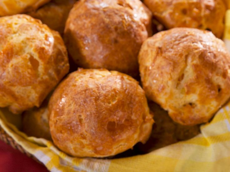 Cheesy Puffs recipe from Nancy Fuller via Food Network