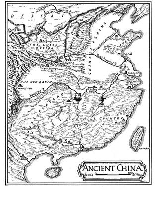 Map of Ancient China Use this map to help you identify the geographical features of Ancient China