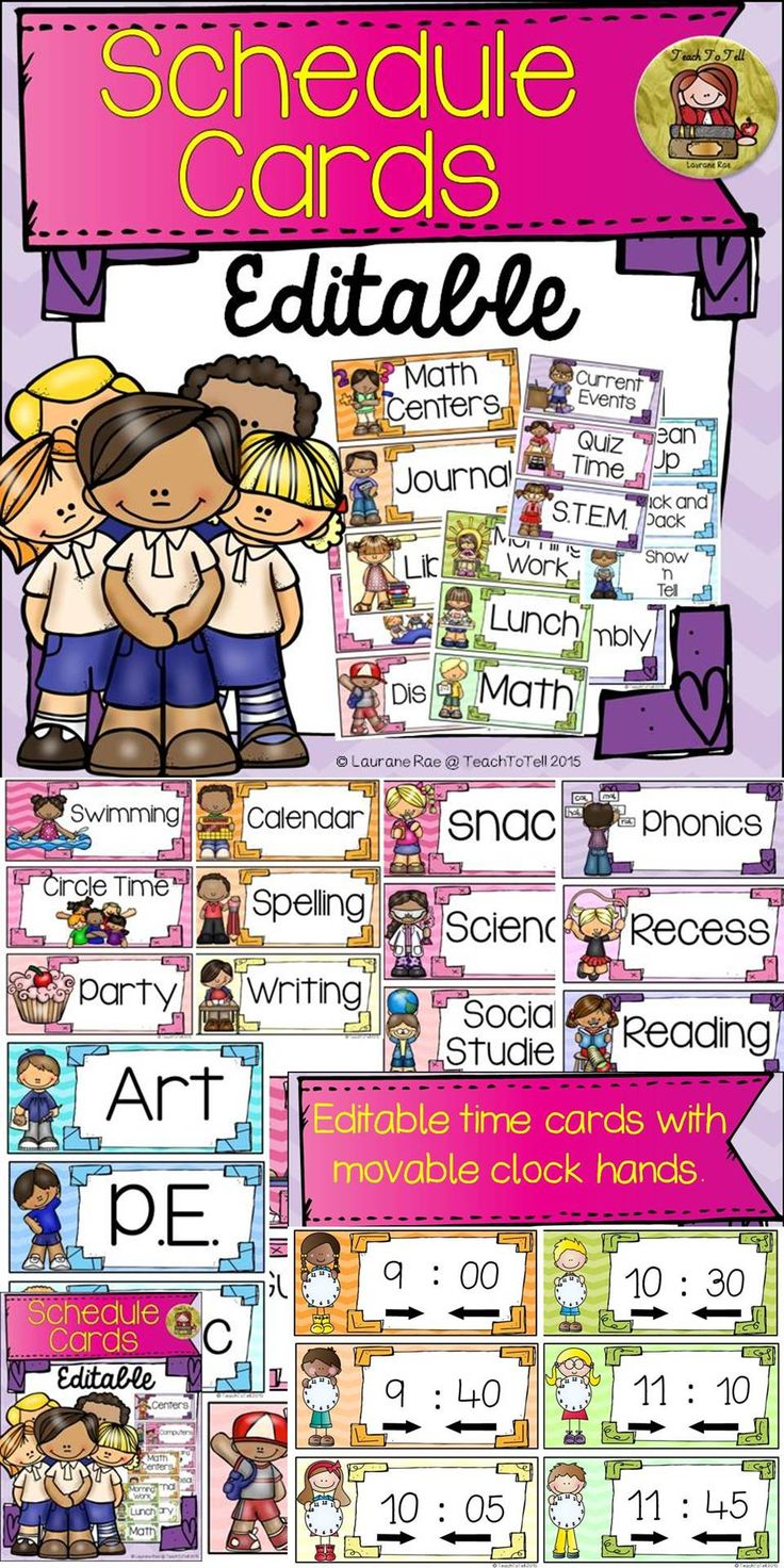 These 36 editable schedule cardsfeaturing Kids and Ice-cream Chevron colors will be a cool visual reminder for your students. No more will they pester you with the words, 'What do we have next?' ☺ https://www.teacherspayteachers.com/Product/BACK-TO-SCHOOL-EDITABLE-SCHEDULE-CARDS-Kids-Ice-cream-chevron-CLASS-DECOR-1990991