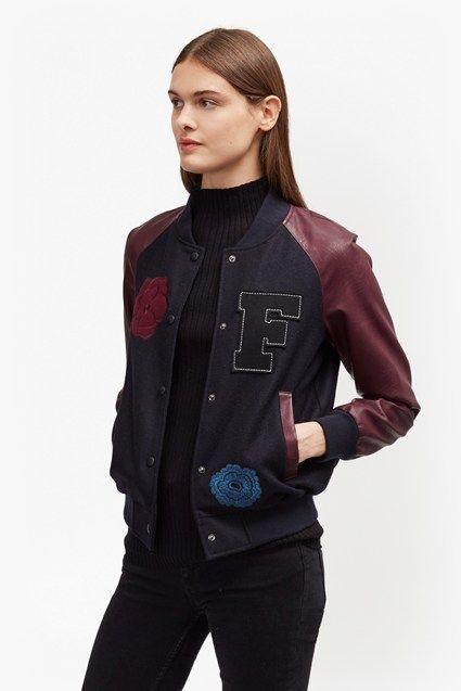 Viv Varsity Patch Jacket