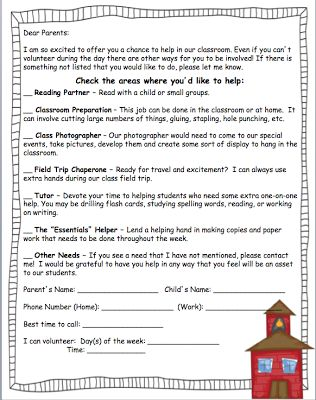 EDITABLE & FREE Back to School Forms!!!!