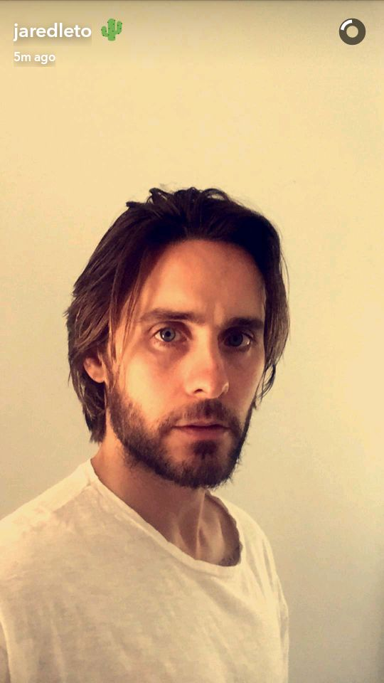 Jared Leto snapchat 6 July 2016