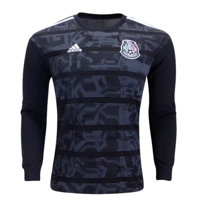 Men S Mexico Long Sleeve 2019 2020 Home Soccer Jersey Black Chanasks Impacttvasports Mls Nycvmtl Montreal Long Sleeve Tshirt Men Soccer Jersey Adidas Men