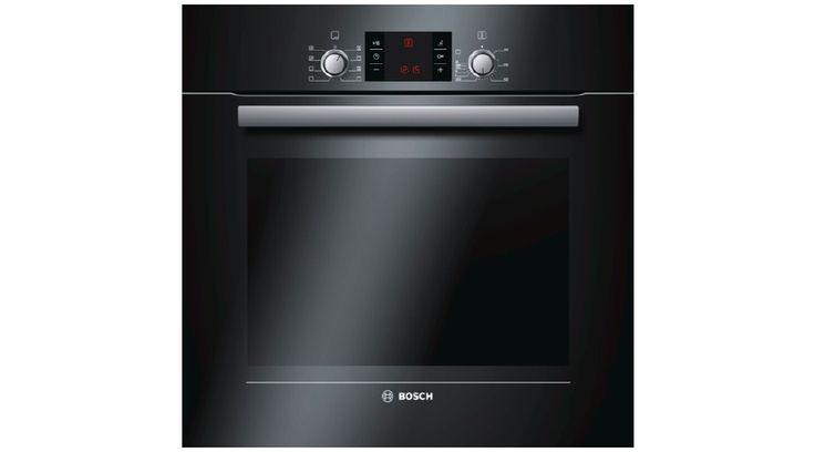 Bosch HBG43T360R fekete beépíthető sütő, 7 funkcióval, 3sütősínnel