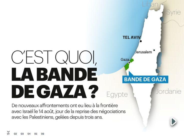 C'est quoi, la bande de Gaza ? © Ask Media