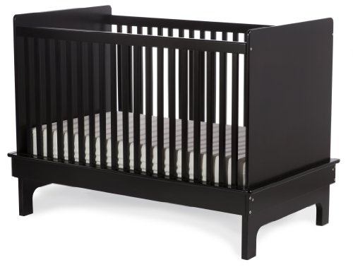 "$495.00-$495.00 Baby Argington Sahara Crib - EbonyThe Sahara crib is a sleek, contemporary crib at an affordable price.   It converts to a toddler bed giving parents extended use and a great value.  It is the perfect match with the Sahara Chest of drawers and the Anywhere changing tray to completely outfit your nursery.57"" (length) x 33"" (width) x 40"" (height)Mattress is adjustable to three posi ..."