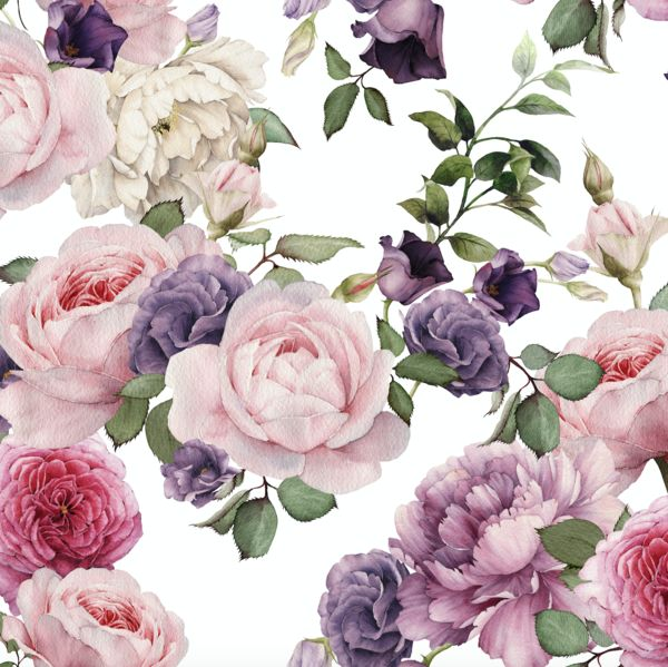 Pink Flowers Wallpaper: 25+ Best Ideas About Vintage Floral Wallpapers On
