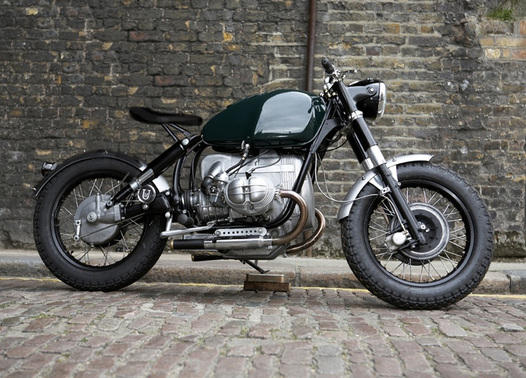 custom bmw. i like the bobber look w/ spring seat. i love the