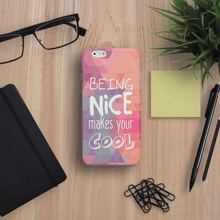 #Cover #Cool #Fashion #trend http://www.creatink.com/product/iphone-cover-case/being-nice-2/