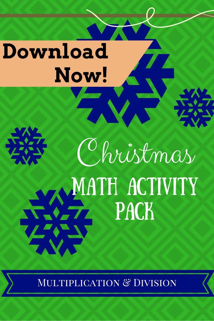 32 best Christmas Math Fun! images on Pinterest | Christmas math ...