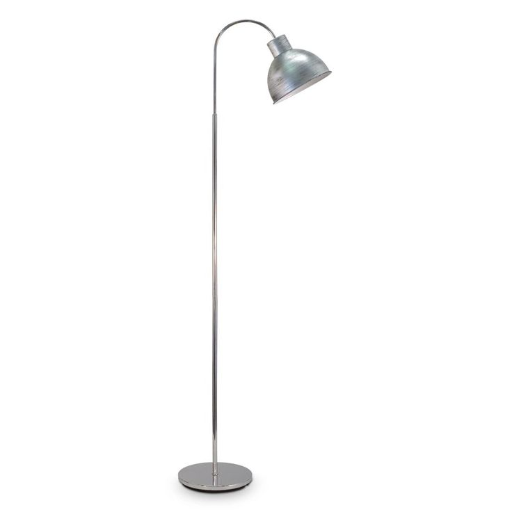 32 best floor lamps images on pinterest floor lamps floor floor lamps vintage antique silver steel floor light with an old fashioned design that fits mozeypictures Image collections