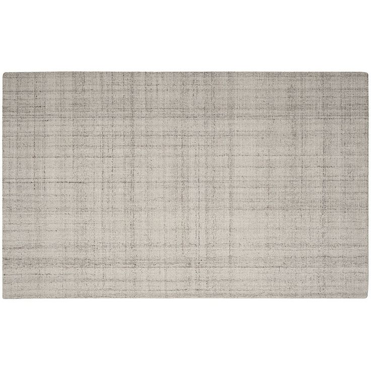 Safavieh Abstract Nubby Texture Striped Wool Blend Rug, Grey