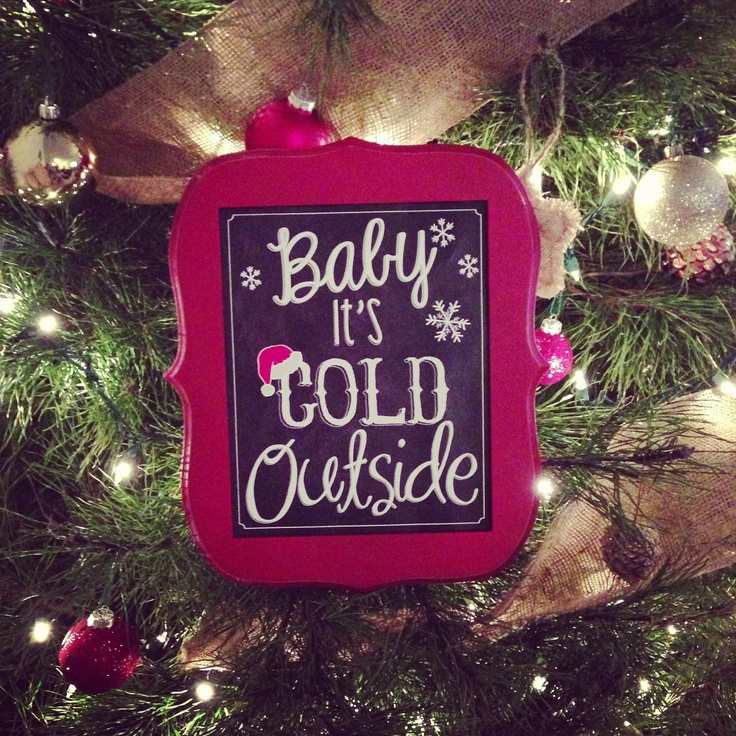 Christmas Chalkboard Sign - would also be cute cross stitched.