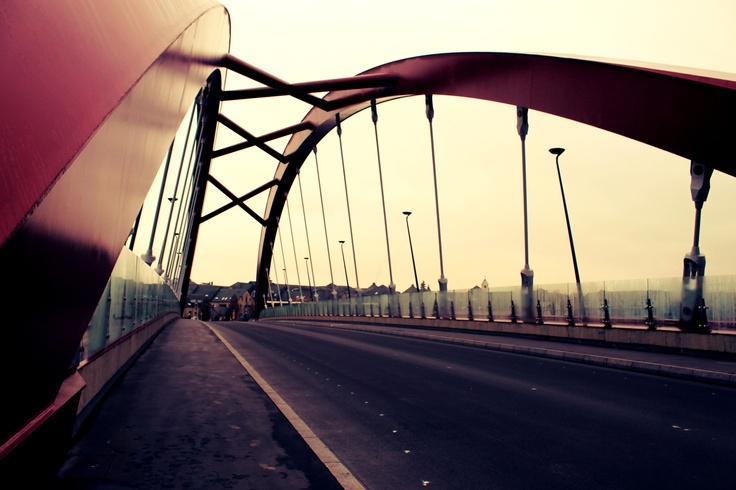 Big Red Bridge.
