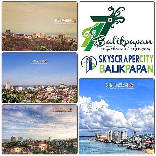 Happy 117th Anniversary Balikpapan on February 10th #city #skyline #balikpapan #savesepinggan #ssc #landscape #hdr #instacollage @instabpn @instanusantara @balikpapancity @Instagramhub @instagram @skyviewers @skystyles_gf @skyimage @gf_indonesia
