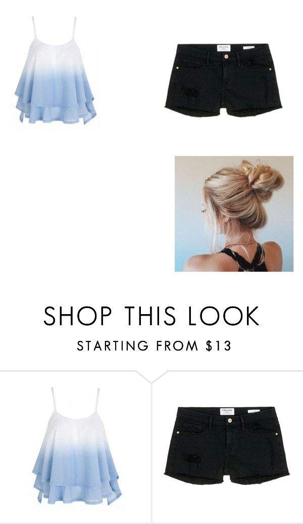 """Untitled #19"" by sterian-ioana on Polyvore featuring Frame Denim"