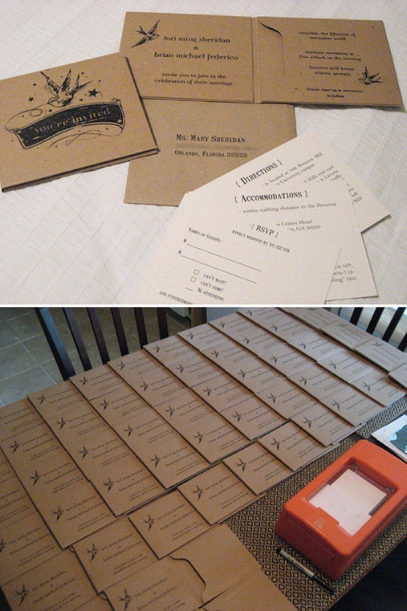 diy cd wedding invitations%0A cd holders are a fantastic idea    DIY sleeves  u     wallets can be found at   Unique Wedding InvitationsDiy