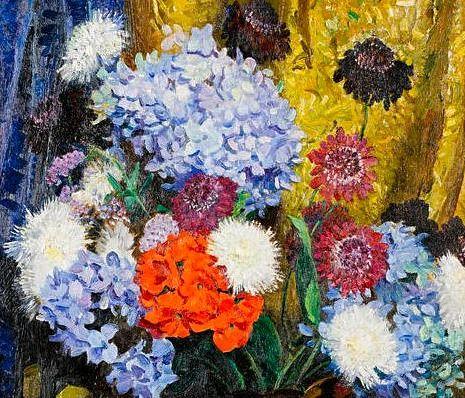 Laura Knight - Flowerpiece (detail), 20th century