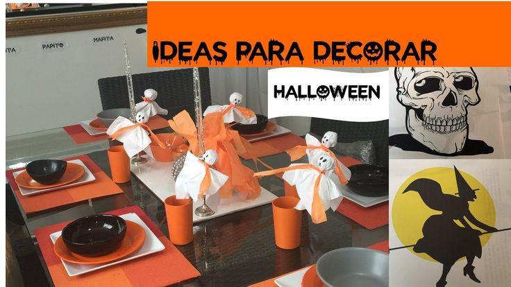 Ideas para decorar en HALLOWEEN    LITA PINTO