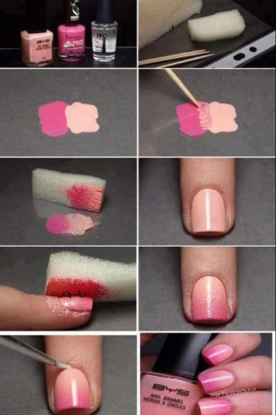 ombre nails!