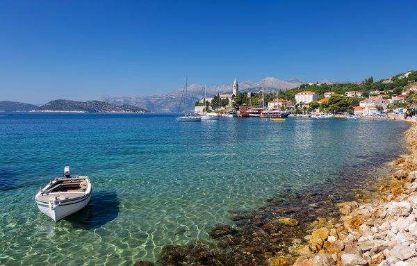 (John and Tina Reid via Getty Images) The World's Most Secret And Magical Swimming Spots: 2 Elaphiti Islands, Croatia (Escape the heat, bustle and cruise ship crowds of Dubrovnik and take a boat or ferry out to the Elaphiti Islands. There's a total of 13 islands, only three of which are populated – Kolocep, Lopud and Sipan. They're a paradise for swimmers, with shallow, crystal clear blue water and a mixture of sandy and rocky coves, backdropped by fragrant majestic pine forests and aged…