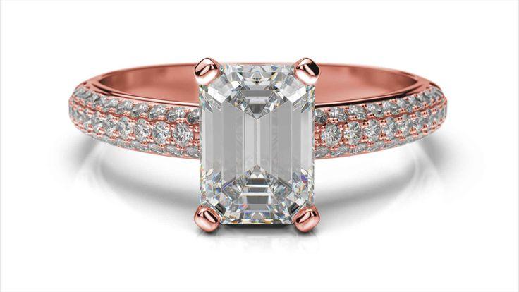 Zásnubný prsteň Meissa emerald