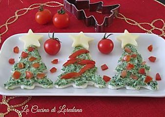 Tartine di Natale - Ricetta antipasto
