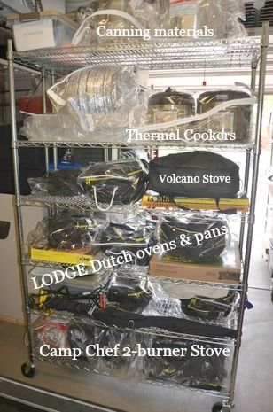 How To Store Emergency Preparedness Items
