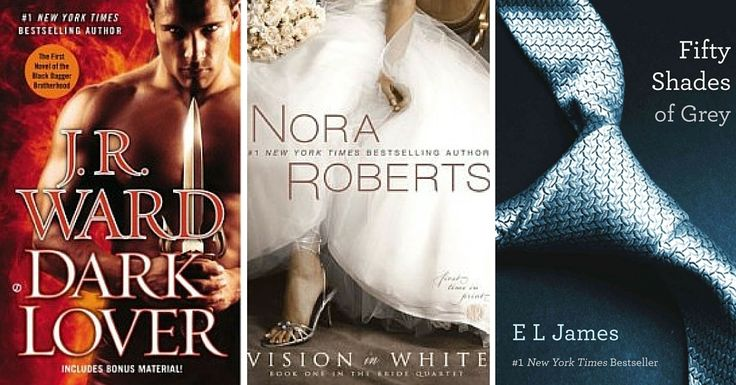 Looking for a steamy, dreamy love story? Here are 23 most popular romance novels of the past decade.