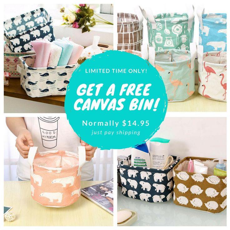 Free Gift Baskets Bin