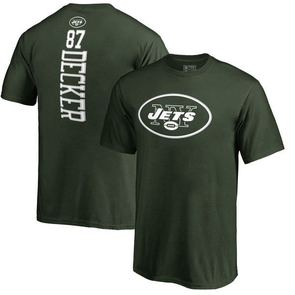 Eric Decker New York Jets NFL Pro Line Youth Backer Name & Number T-Shirt - Green - $29.99