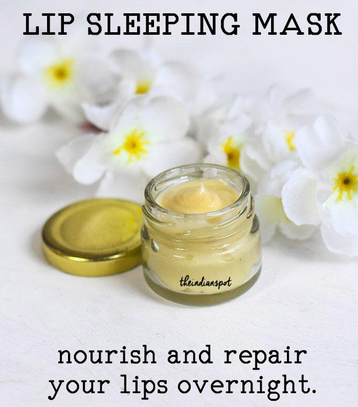Nourish And Repair Lips Overnight Lip Sleeping Mask Diy Lip Balm Recipes Diy Lip Mask