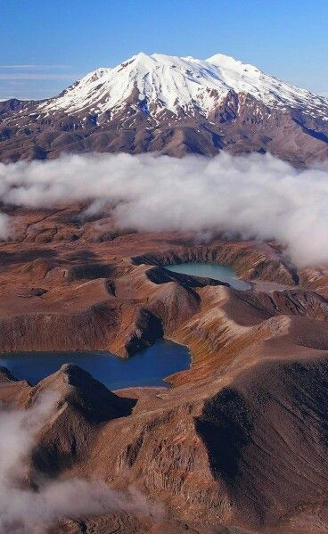 Mt Ruapehu, Tongariro National Park, New Zealand Mount Ruapehu, or just Ruapehu, is an active stratovolcano at the southern end of the Taupo Volcanic Zone in New Zealand. It is 23 kilometres northeast of Ohakune and 40 kilometres southwest of the southern shore of Lake Taupo, within Tongariro National Park.